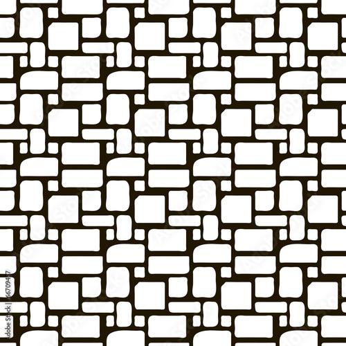 seamless monochrome pattern ornament