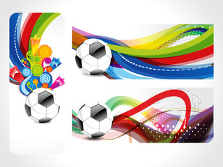 Football Banner Background