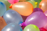 Pile of Colorful Water Balloons