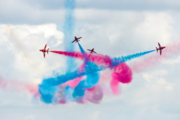 Red Arrows demo team