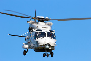Nato navy helicopter
