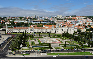 The Jeronimos Monastery, Lisbon, Portugal