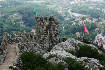The Castle of the Moors , Sintra, Portugal