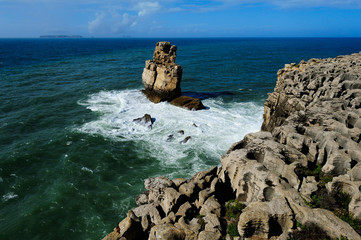 Atlantic coast, Peniche, Portugal