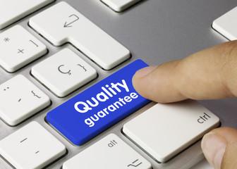 Quality guarantee. Keyboard