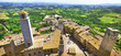 San Gimignano panorama - medieval town of Tuscany, Italy