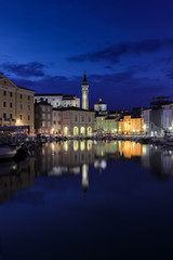 Piran at Night