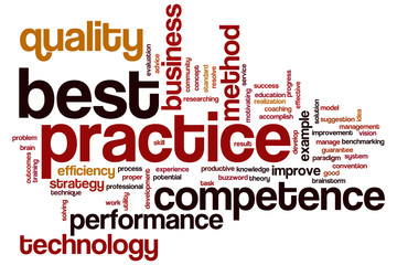 Best practice word cloud