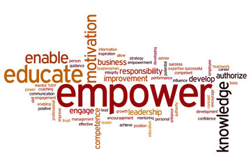 Empower word cloud
