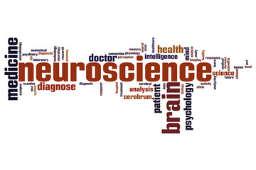 Neuroscience word cloud