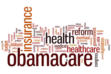Obamacare word cloud