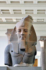 The Pharaoh in the British museum