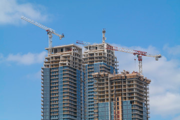 New High-rise Buildings Under Construction