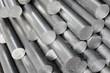 Leinwanddruck Bild - Steel pipe