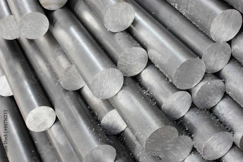 Leinwanddruck Bild Steel pipe