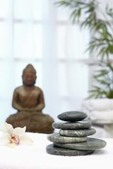 Thaimassage, Hotstones, Buddha