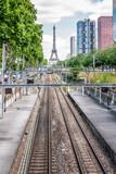 La Tour Eiffel et Bir-Hakeim