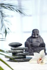 Hot Stones, Jade, Buddha