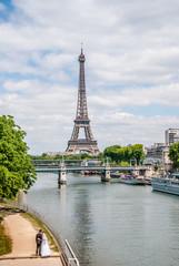 Mariage et Tour Eiffel