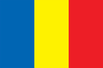 National flag of Romania