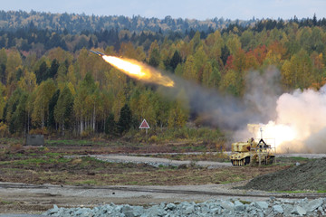 Attack missile system