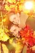 Pärchen im Herbst