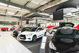 Präsentation von Neuwagen im Autohaus