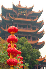 Yellow Crane Tower in Wuhan, Hubei province of China