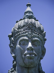 Balinese temple - God statue