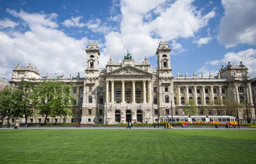 Ethnographic museum in Budapest, Hungary