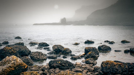 Ireland Coast Fog