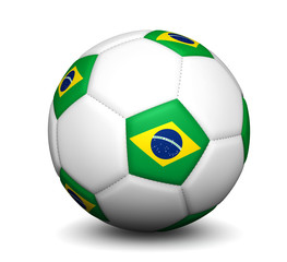 Brazil Football Soccer Ball