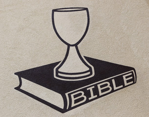 Bible  and chalice