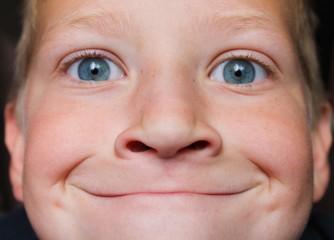 smug face