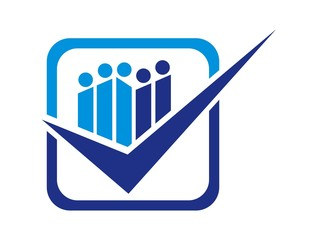 team work logo,consulting business symbol.people work icon