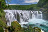 Waterfall Strbacki Buk on Una river in Bosnia