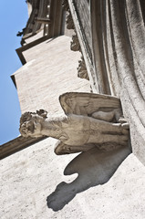 Gorgoyle, detail from St. Othmar's church, Vienna