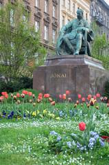 Mór Jókai statue