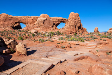 Trail to the Windows, Arches N.P.