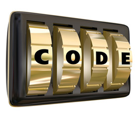 Code Word Lock Dials Secret Classified Informatoin Password Acce