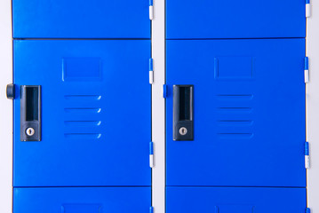 Student Gym Lockers University School Campus