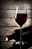 Glass of red wine - 66729662