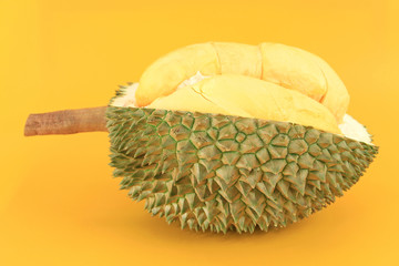 Close up of durian