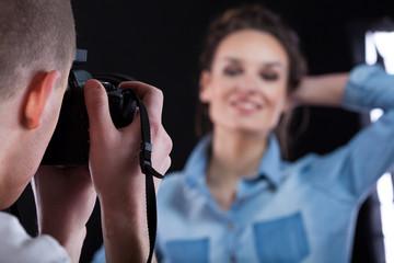 Taking professional photo