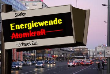 Anzeigetafel 5 - Energiewende