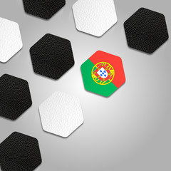 Beautiful Portugal Ball Texture