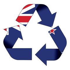 Recycle symbol flag - New Zealand