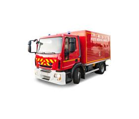 Véhicule secours pompier