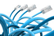 Blue color network cable
