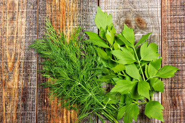 Dill and lovage